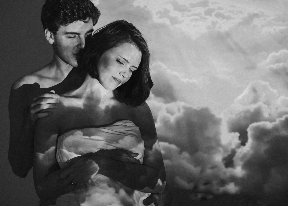 zakochani w chmurach