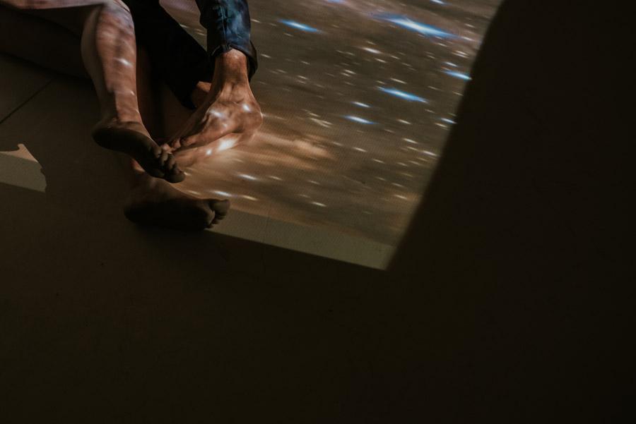 kosmiczna sesja narzeczeńska