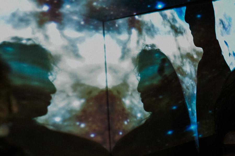 Zdjęcia zakochanych - kosmiczna sesja