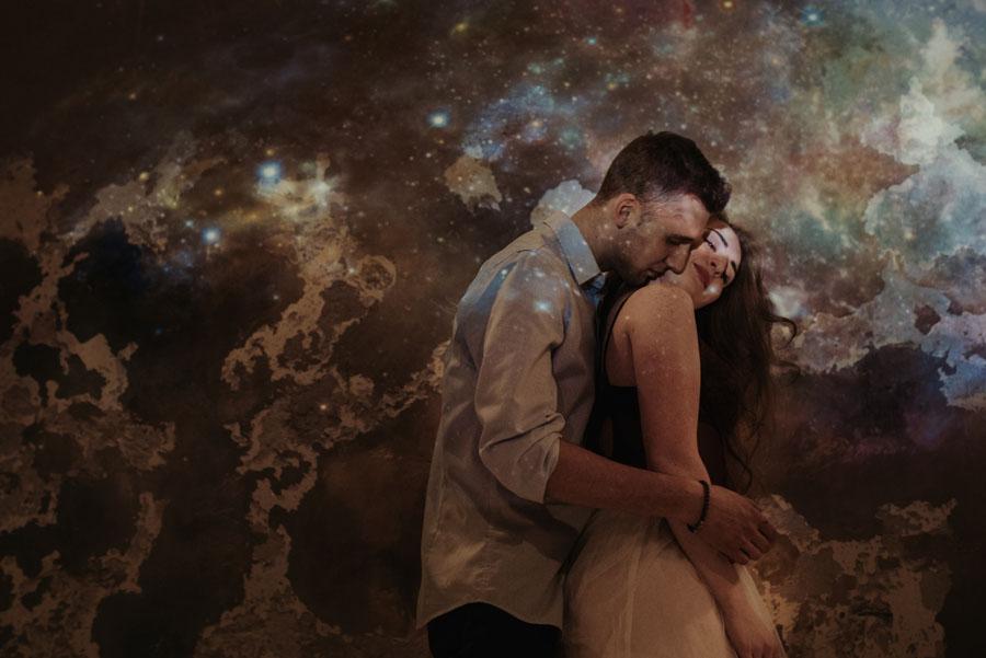 kosmiczna sesja pary