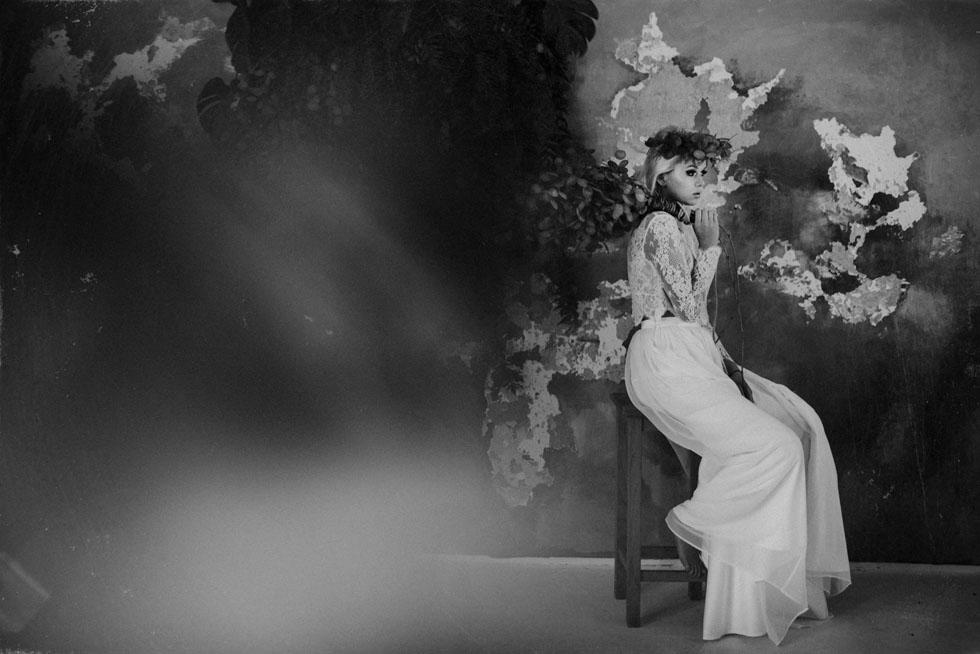 sesja ślubna w studio