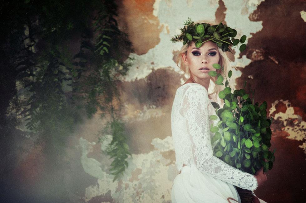 zdjęcia ślubne stylizowana