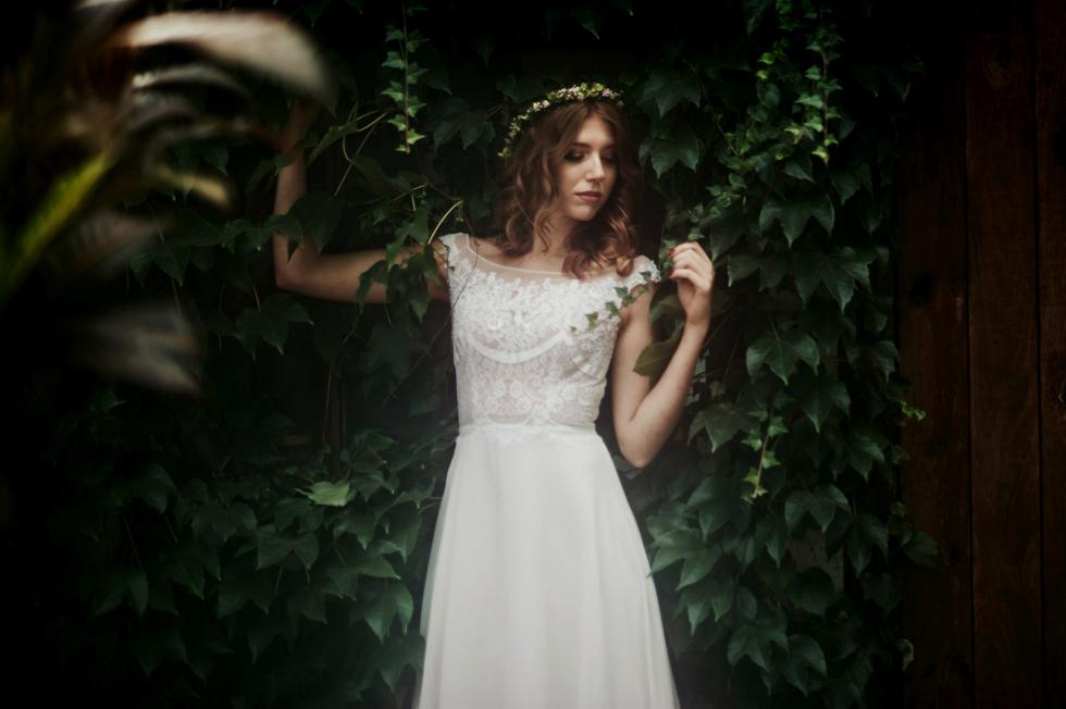 zaczarowany ogród sesja ślubna