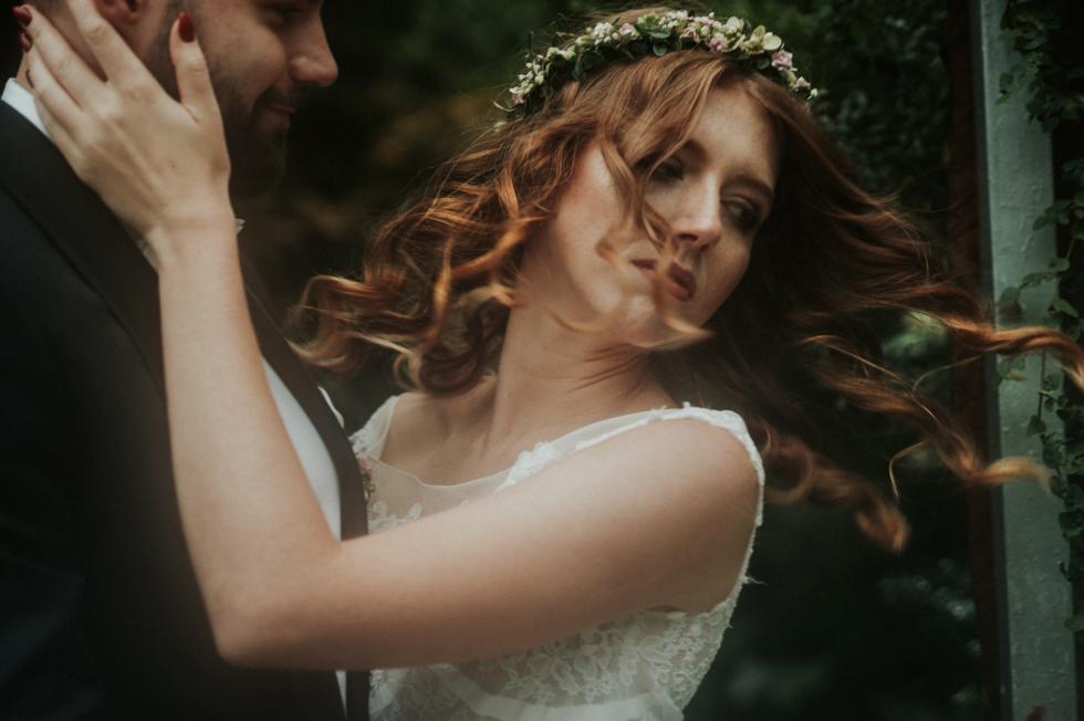 romantyczna sesja ślubna