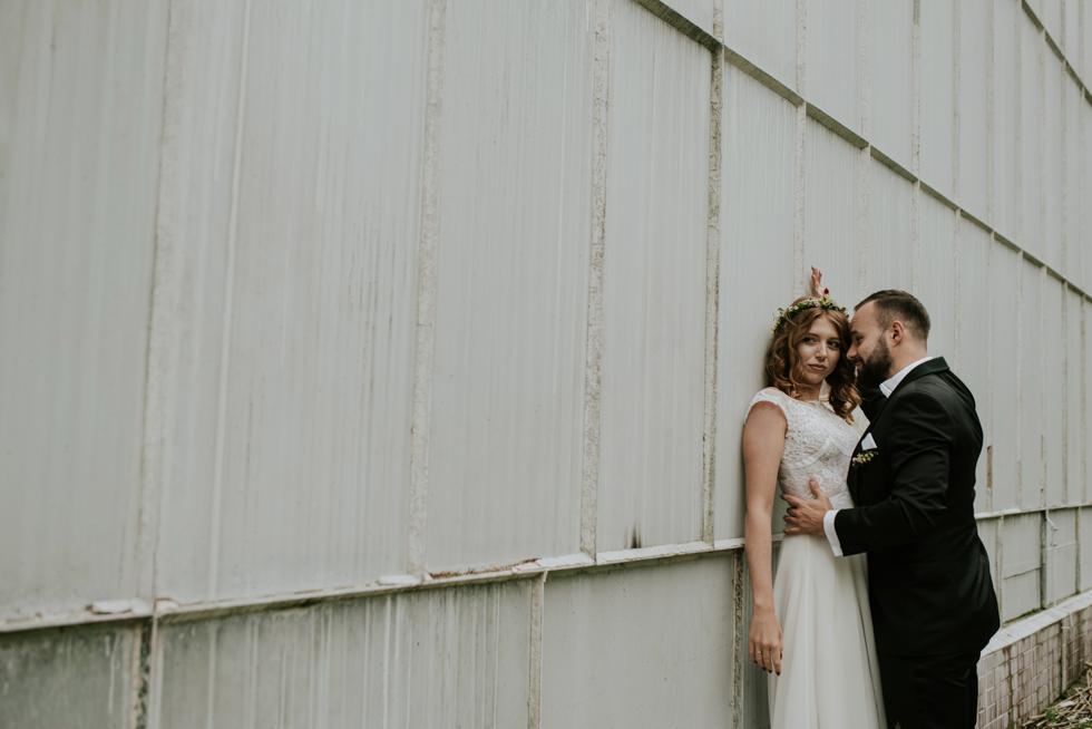 zakochani sesja ślubna