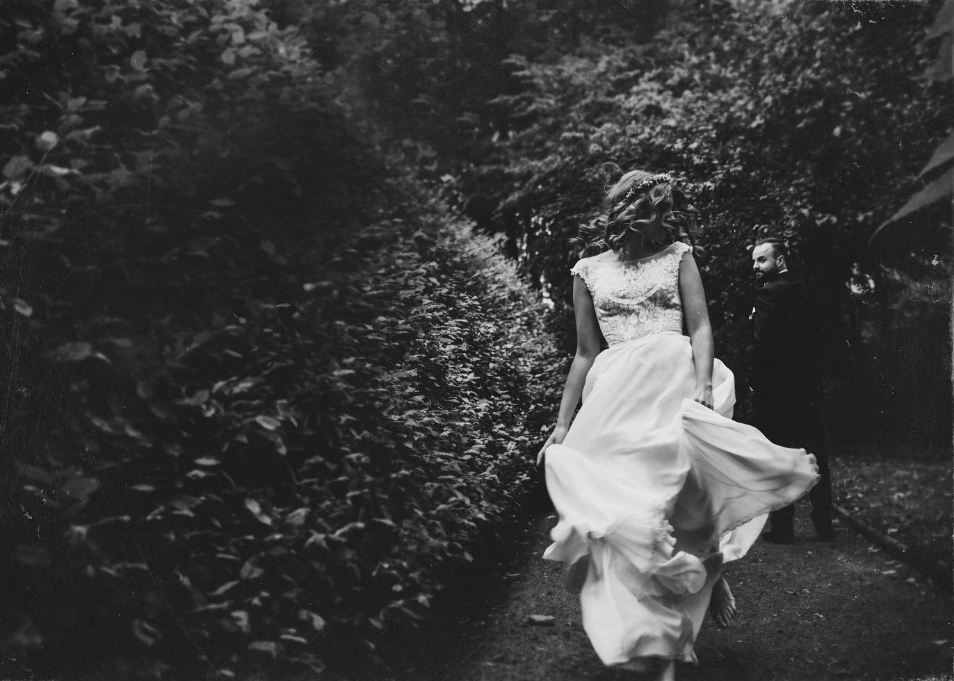 baśniowa fotografia ślubna