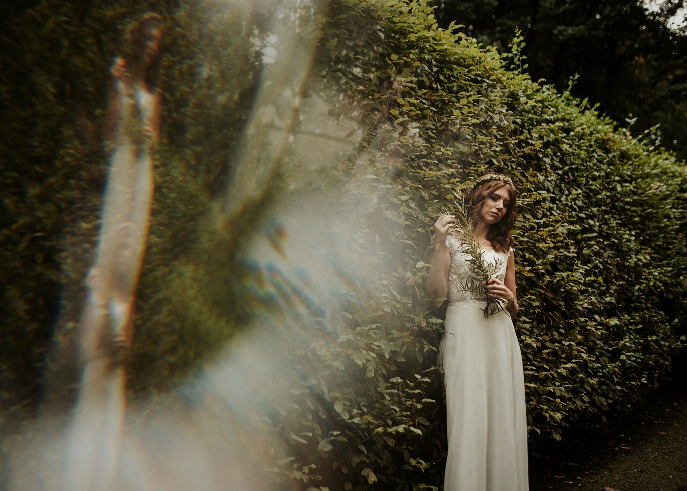 baśniowe zdjęcia ślubne