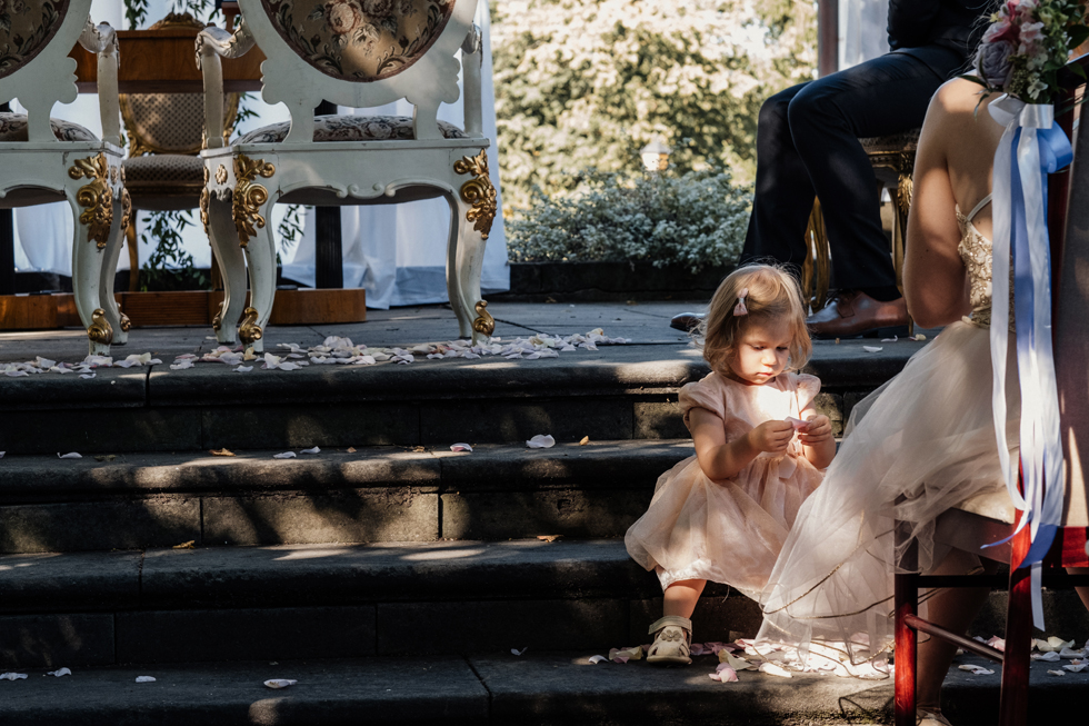 Malwina & Staffan, ślub w Pałacu Jabłonna