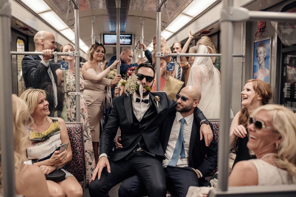 sesja w metrze
