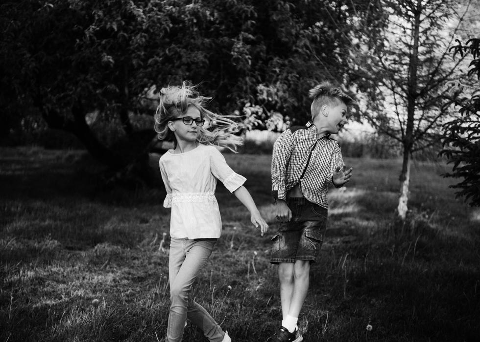 zdjęcia dzieci na wsi