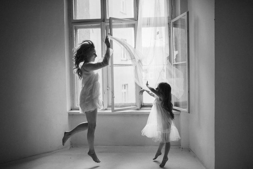 sesja mamy i córki