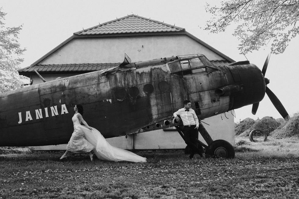 Plener ślubny w stylu retro